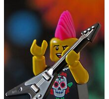 LEGO(R) Rocks!!! Photographic Print