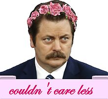 ron swanson parks and recreation merch by VioletJigsaw