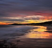 Friday the 13th Sunset. by Warren  Patten