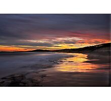 Friday the 13th Sunset. Photographic Print