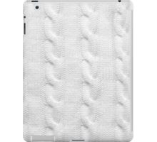 Cable Knit Pattern iPad Case/Skin
