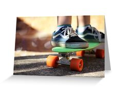 Penny Skater Greeting Card
