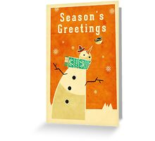 Snowman 4 Greeting Card