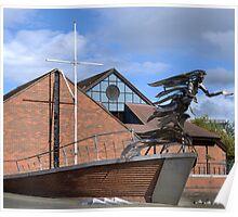 The Flying Angel - Belfast Poster