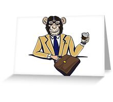 Monkey Business. Greeting Card