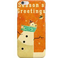 Snowman 4 iPhone Case/Skin