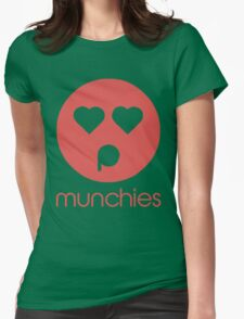Stoner Emotions - Munchies. Womens Fitted T-Shirt