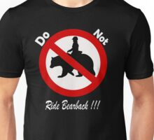 Don't do it!!!!...its bad for your health Unisex T-Shirt