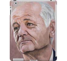 Bill Murray digital Portrait iPad Case/Skin