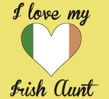I Love My Irish Aunt Baby Tee