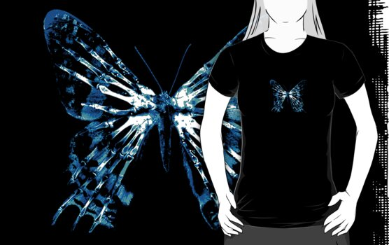 Fringe Butterfly by bubblemunki