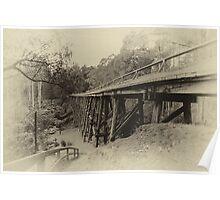 Old Noojee Trestle Bridge Poster