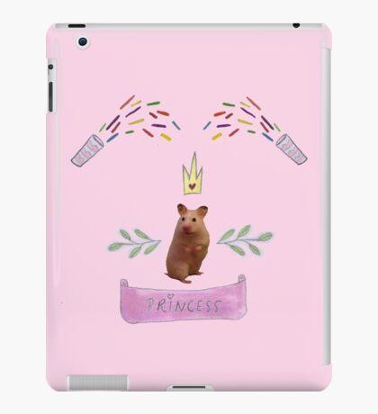 Princess Hamster Banner Mouse iPad Case/Skin