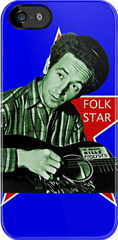 Woody Guthrie, Folk Star (Sm) by MTKlima