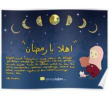 Ahlan ya Ramadhan (Malay) Poster