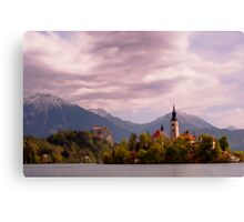 Portrait of Bled Canvas Print