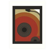 ode to vinyl Art Print