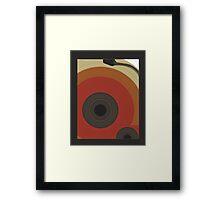 ode to vinyl Framed Print
