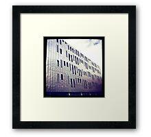 Manchester Metal Building Framed Print