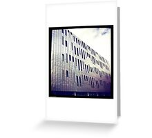Manchester Metal Building Greeting Card