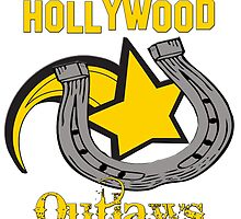 Vintage Hollywood Outlaws T-Shirt by DMurdoch1388