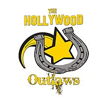 Vintage Hollywood Outlaws T-Shirt Photographic Print