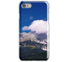 Fluffy Mountain Clouds - Wilder Kaiser iPhone Case/Skin