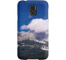 Fluffy Mountain Clouds - Wilder Kaiser Samsung Galaxy Case/Skin