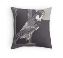 Across the Cityside Throw Pillow