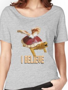 I Believe: Real Koopa Taxidermy Women's Relaxed Fit T-Shirt