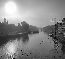 Timeless views along the River Ouse by clickinhistory