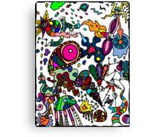 Coloured Rain 2 Canvas Print