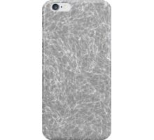 water in black and white iPhone Case/Skin