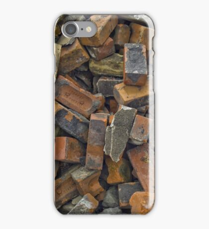 Bricking it! iPhone Case/Skin