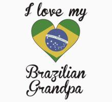 I Love My Brazilian Grandpa One Piece - Short Sleeve