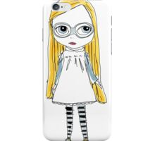 Blythe Doll cute toy art illustration iPhone Case/Skin