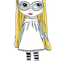 Blythe Doll cute toy art illustration by gmm2000