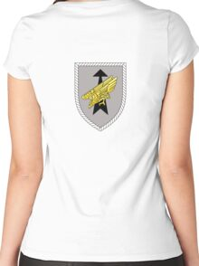 Division Schnelle Kräfte - Rapid Forces Division - German Army Women's Fitted Scoop T-Shirt