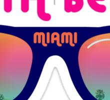 South Beach Miami Sticker