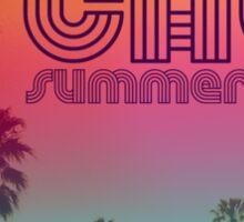 California Summertime Sticker