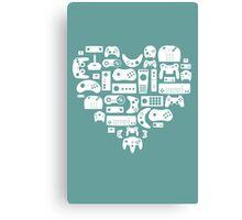 Controller Love Canvas Print