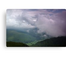 Snowdonia, from Cader Idris Canvas Print