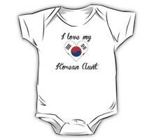 I Love My Korean Aunt One Piece - Short Sleeve