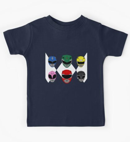 Mighty Morphin' Power Rangers Kids Tee