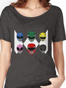 Mighty Morphin' Power Rangers Women's Relaxed Fit T-Shirt