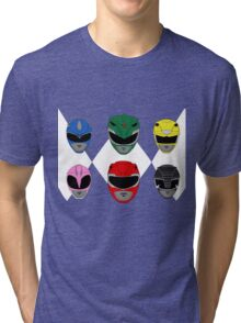 Mighty Morphin' Power Rangers Tri-blend T-Shirt