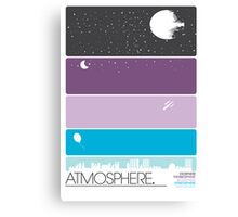 Atmosphere Poster Canvas Print