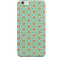 Black and Cream in Mint Nouveau iPhone Case/Skin