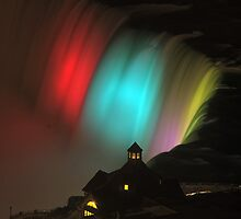 View of Table Rock in Niagara Falls by Bill  Watson