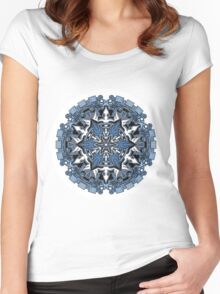Mandala 34 T-Shirts & Hoodies Women's Fitted Scoop T-Shirt